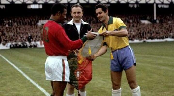 Camisa da Seleção Brasileira na Copa do Mundo de 1966