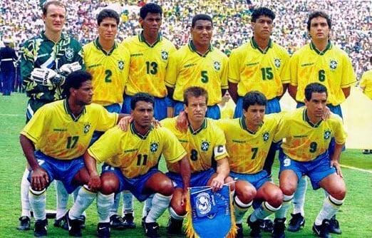 Camisa da Seleção Brasileira na Copa do Mundo de 1994
