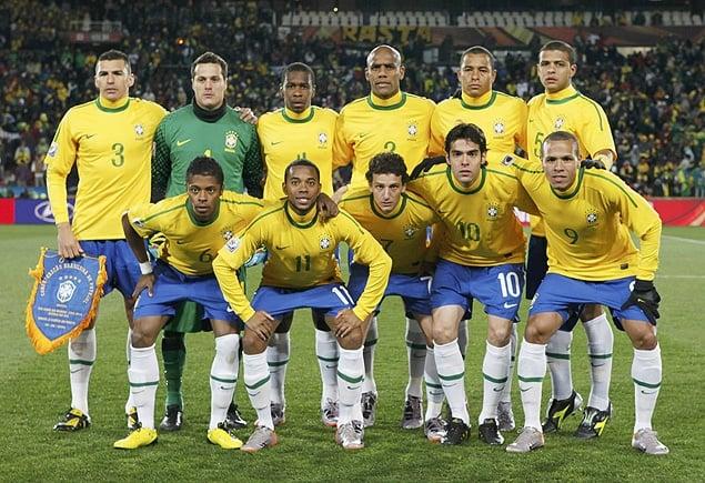 Camisa da Seleção Brasileira na Copa do Mundo de 2010