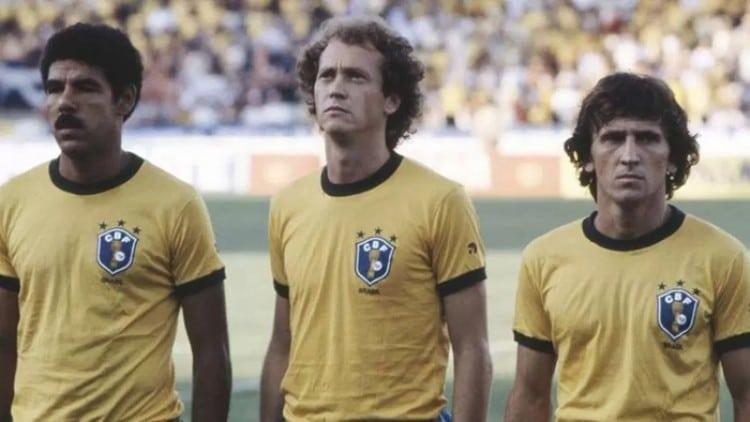 Camisa da Seleção Brasileira na Copa do Mundo de 1982