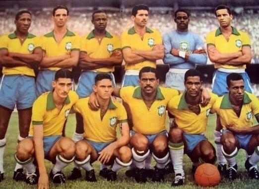 Camisa da Seleção Brasileira na Copa de 1954
