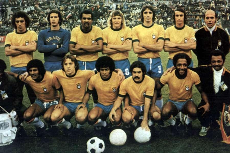 Camisa da Seleção Brasileira em 1974