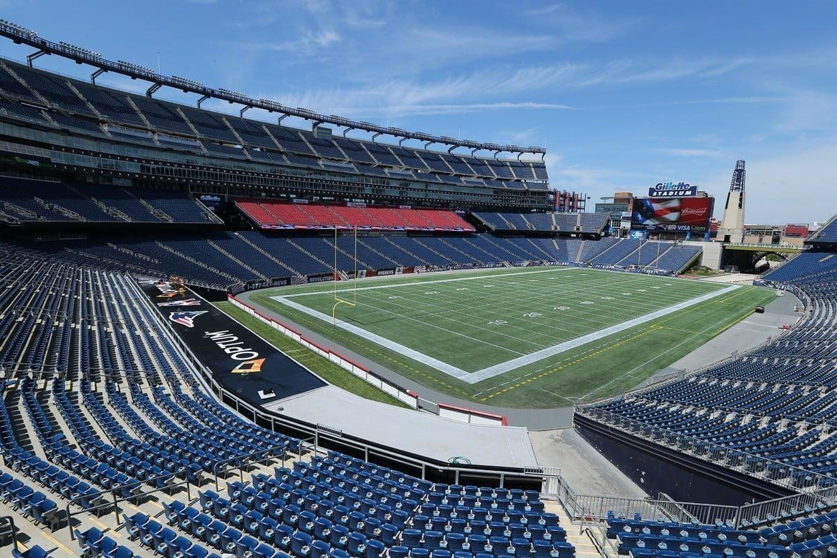 Gillette Stadium do New England Patriots