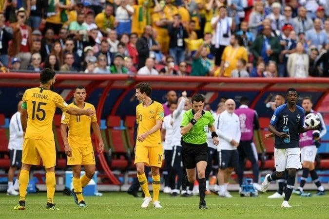 Primeiro VAR na Copa do Mundo