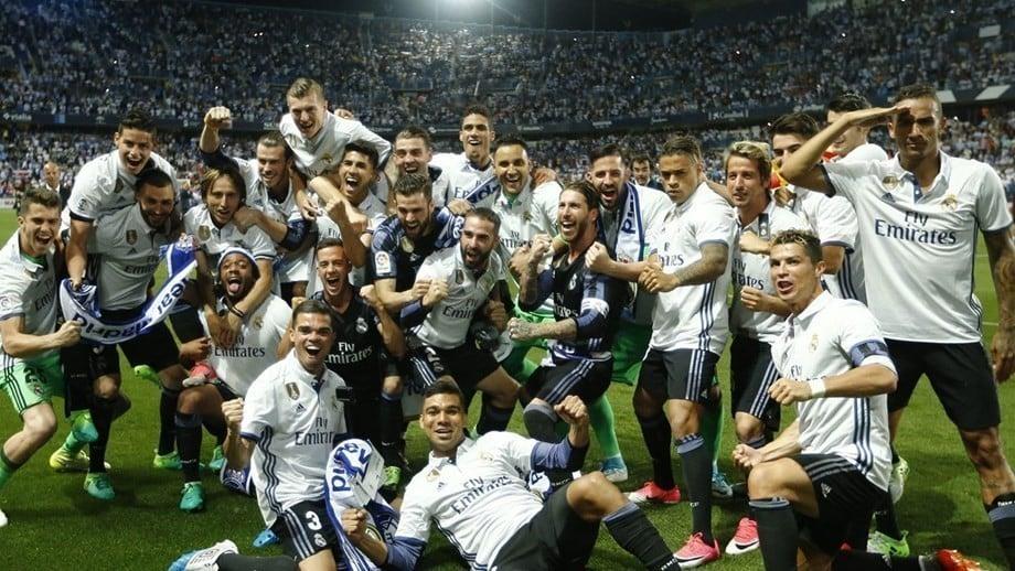 Real Madrid campeão espanhol em 2016/2017