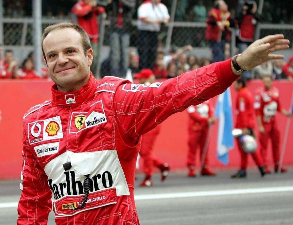 Piloto brasileiro Rubens Barrichello na Fórmula 1