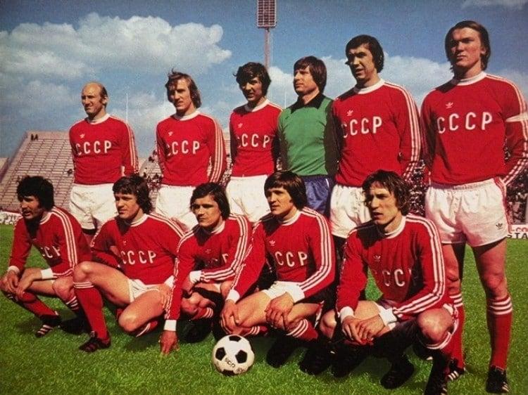 Camisa da URSS em 1986