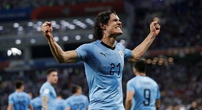 Camisa do Uruguai em 2018