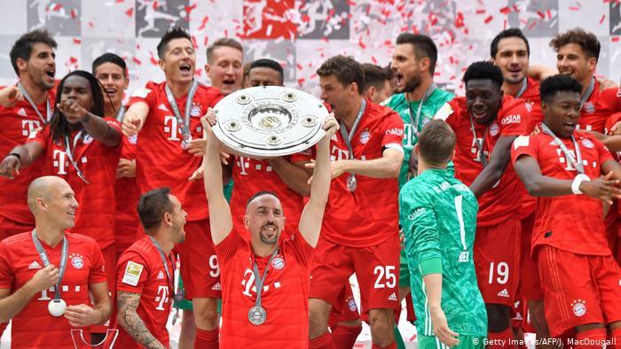 Bayern Campeão Alemão 2018/2019