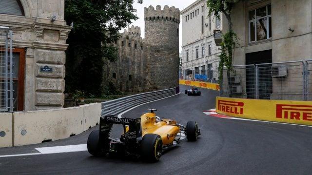 Circuito de Baku no Azerbaijão