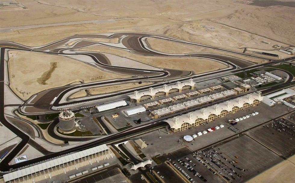 Circuito de Sakhir no Bahrein