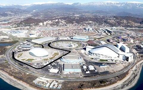 Circuito de Sochi na Rússia