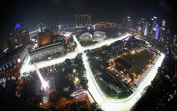 Circuito de Marina Bay em Singapura