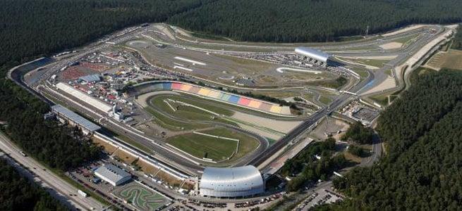 Circuito de Hockenheim na Alemanha