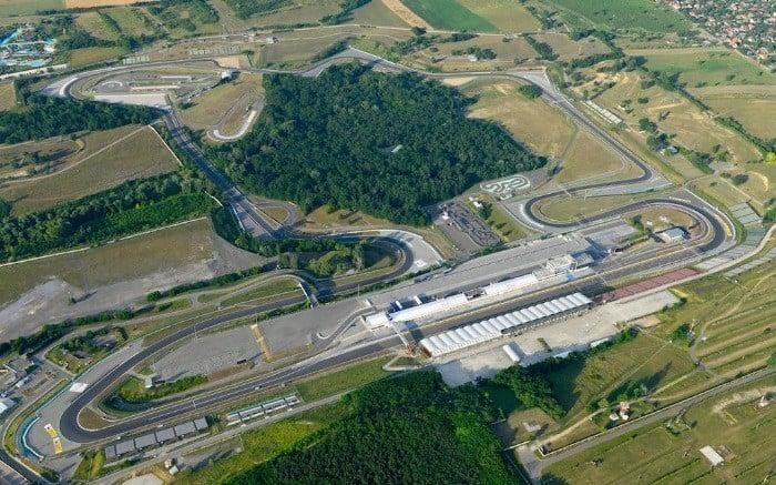 Circuito de Hungaroring na Hungria
