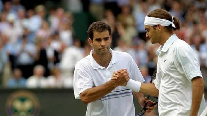 Pete Sampras e Roger Federer