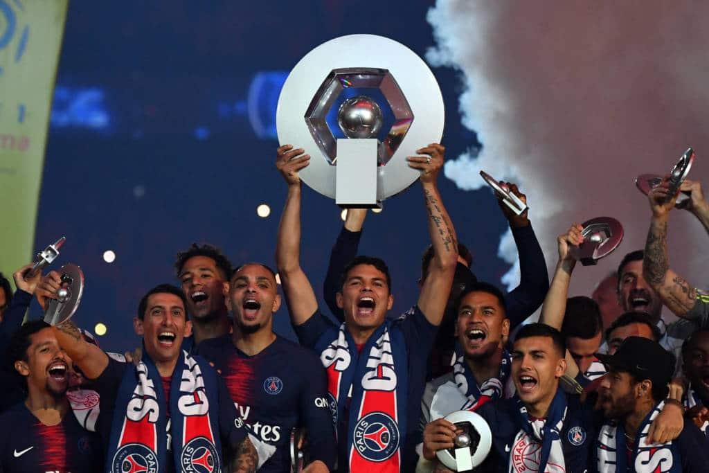 PSG campeão do Campeonato Francês