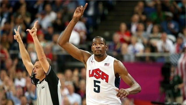 Kevin Durant MVP da Copa do Mundo de Basquete Masculino