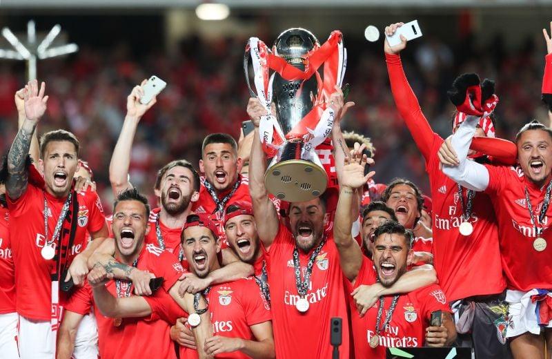 Benfica maior vencedor do Campeonato Português