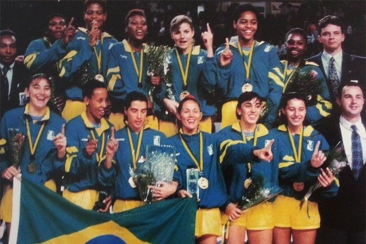 Brasil campeão da Copa do Mundo de Basquete Feminino de 1994