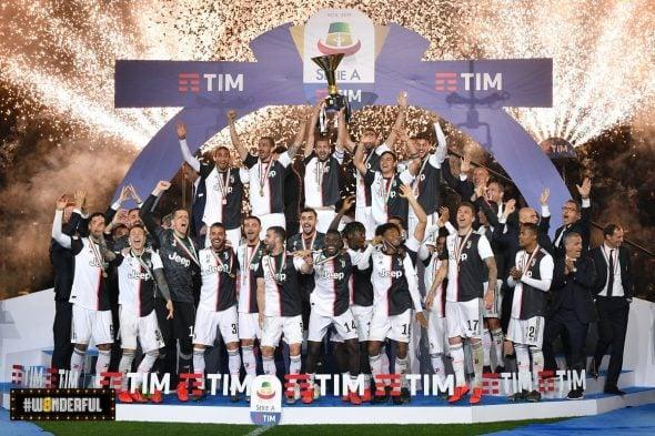 Juventus maior vencedora do Campeonato Italiano