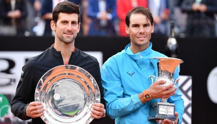 Novak Djokovic e Rafael Nadal