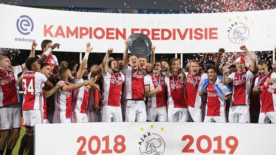 Ajax maior campeão do Campeonato Holandês