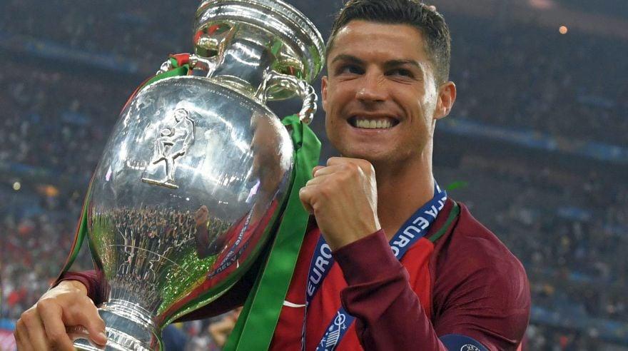 Cristiano Ronaldo campeão da Eurocopa