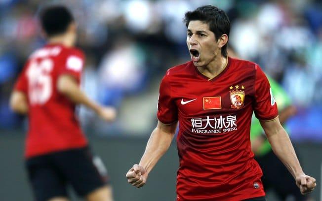 Dario Conca no Campeonato Chinês