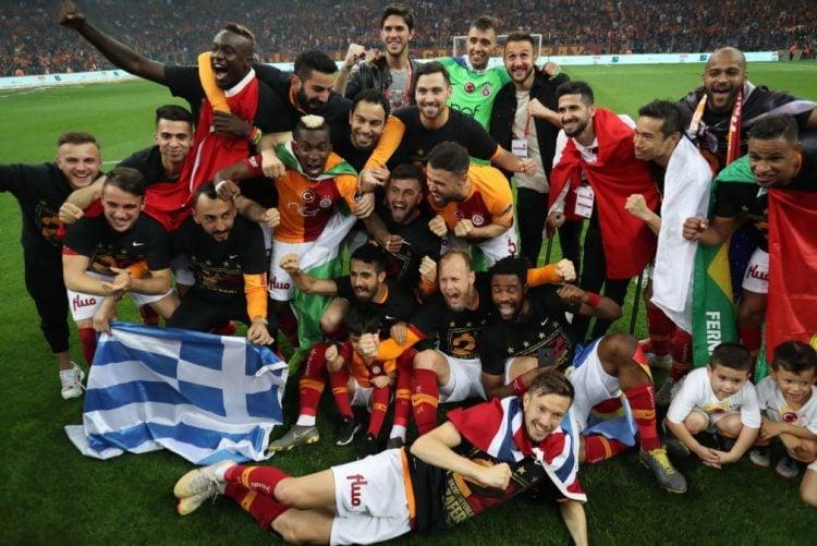 Galatasaray maior campeão do Campeonato Turco