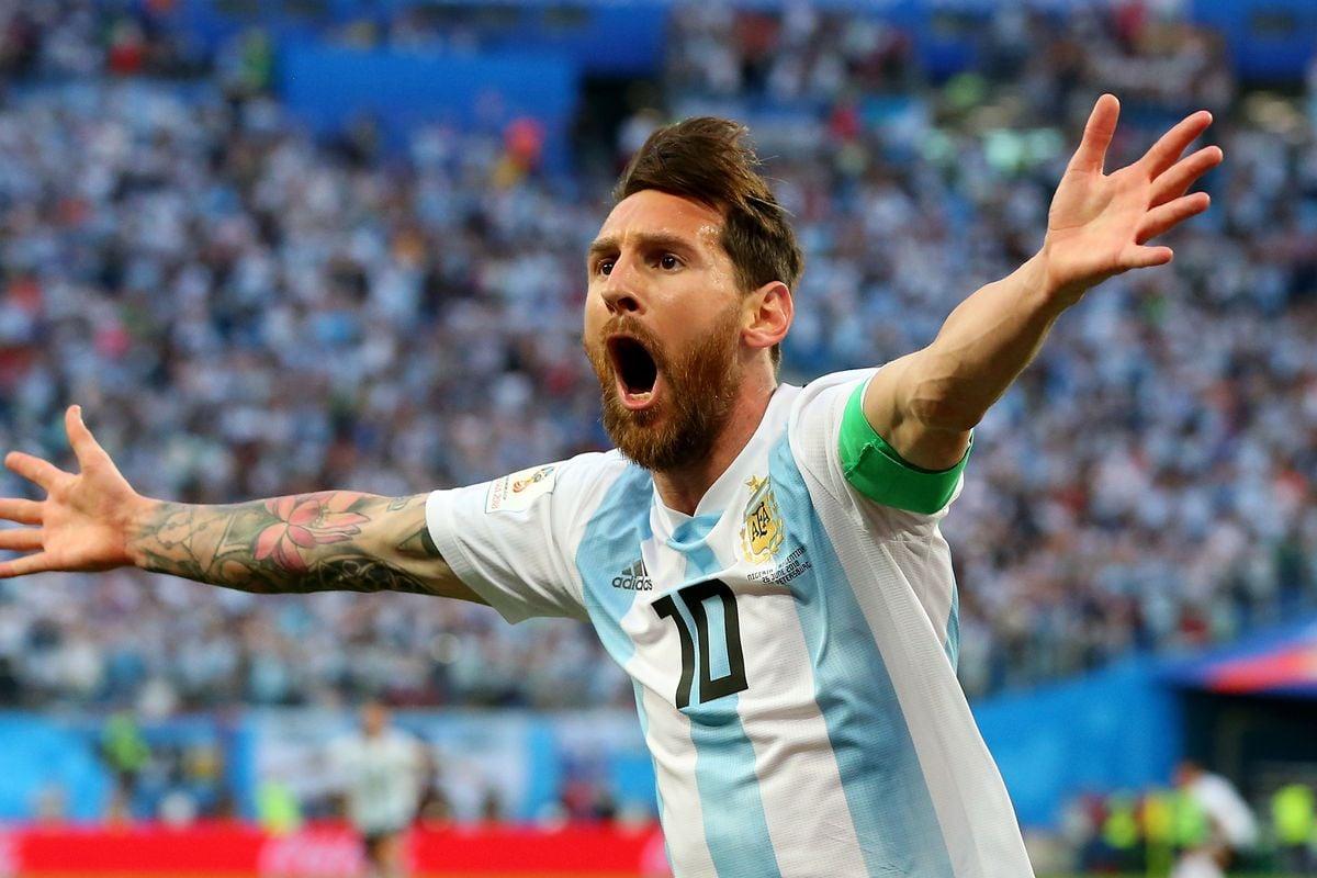 Lionel Messi na Seleção Argentina