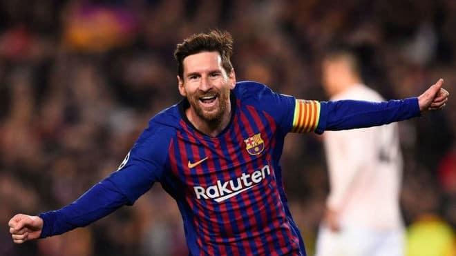 Lionel Messi no Barcelona