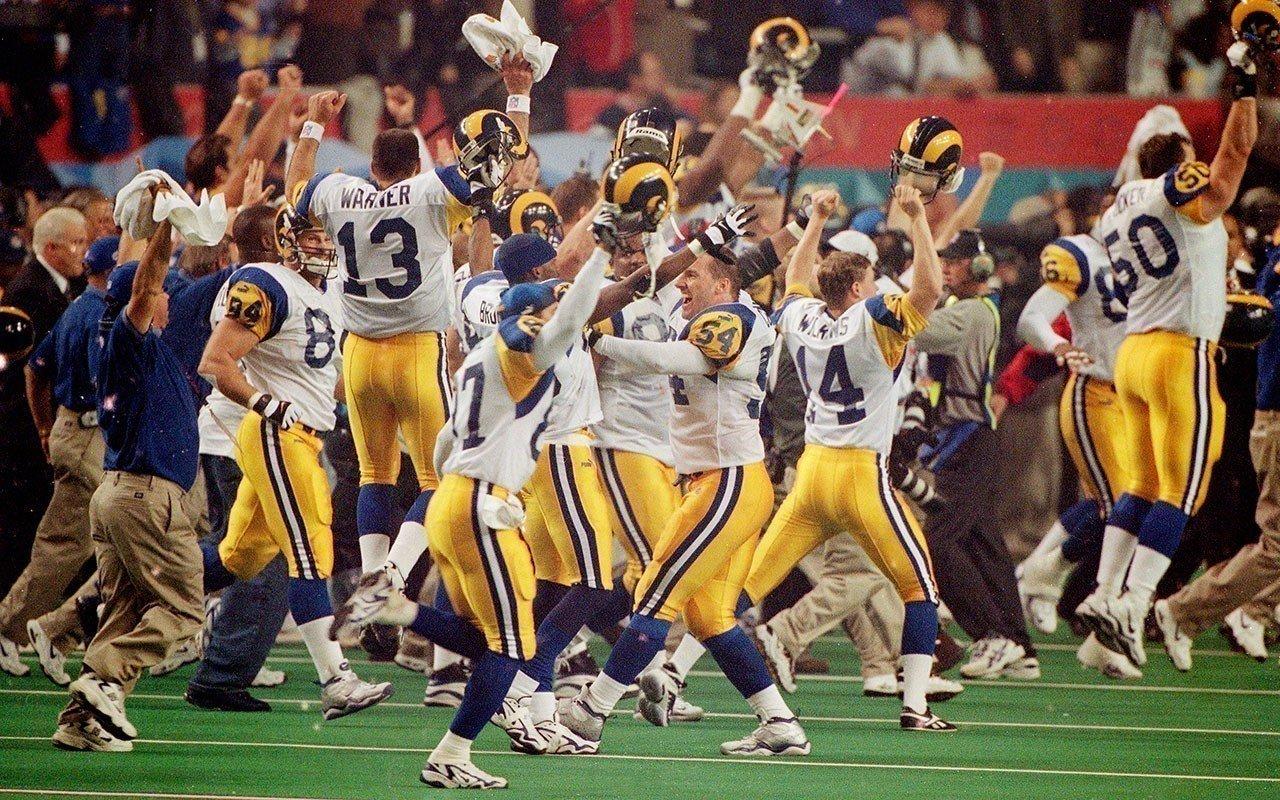 Saint Louis Rams campeão do Super Bowl XXXIV