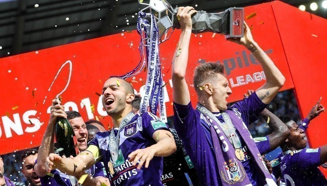 Anderlecht maior campeão do Campeonato Belga