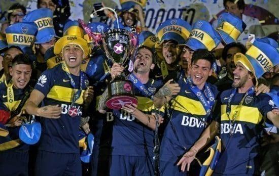 Boca Juniors campeão argentino