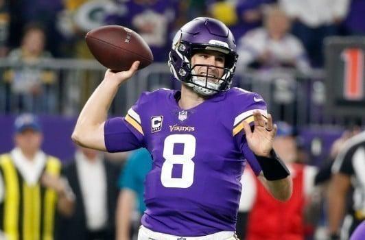Kirk Cousins quarterback do Minnesota Vikings