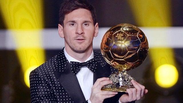 Messi melhor jogador do mundo da Fifa 2012
