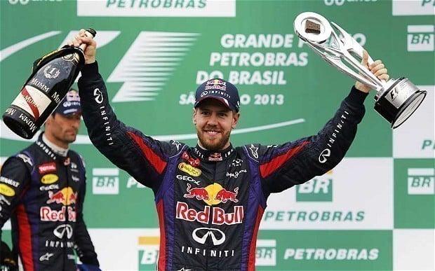 Sebastian Vettel tetracampeão