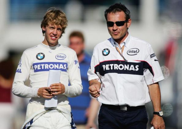 Sebastian Vettel na BMW Sauber