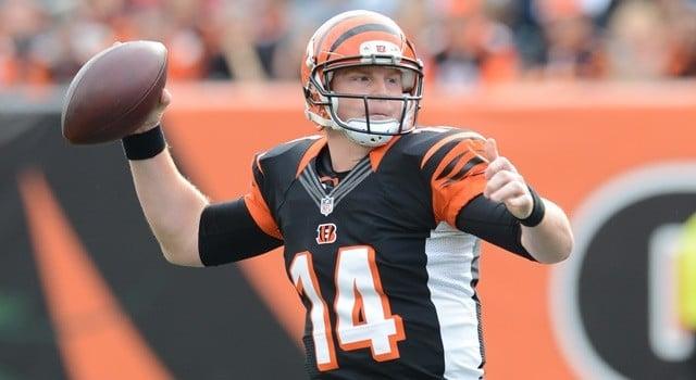 Andy Dalton quarterback do Cincinnati Bengals