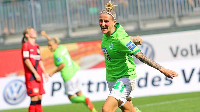 Anja Mittag maior artilheira da Liga dos Campeões Feminina
