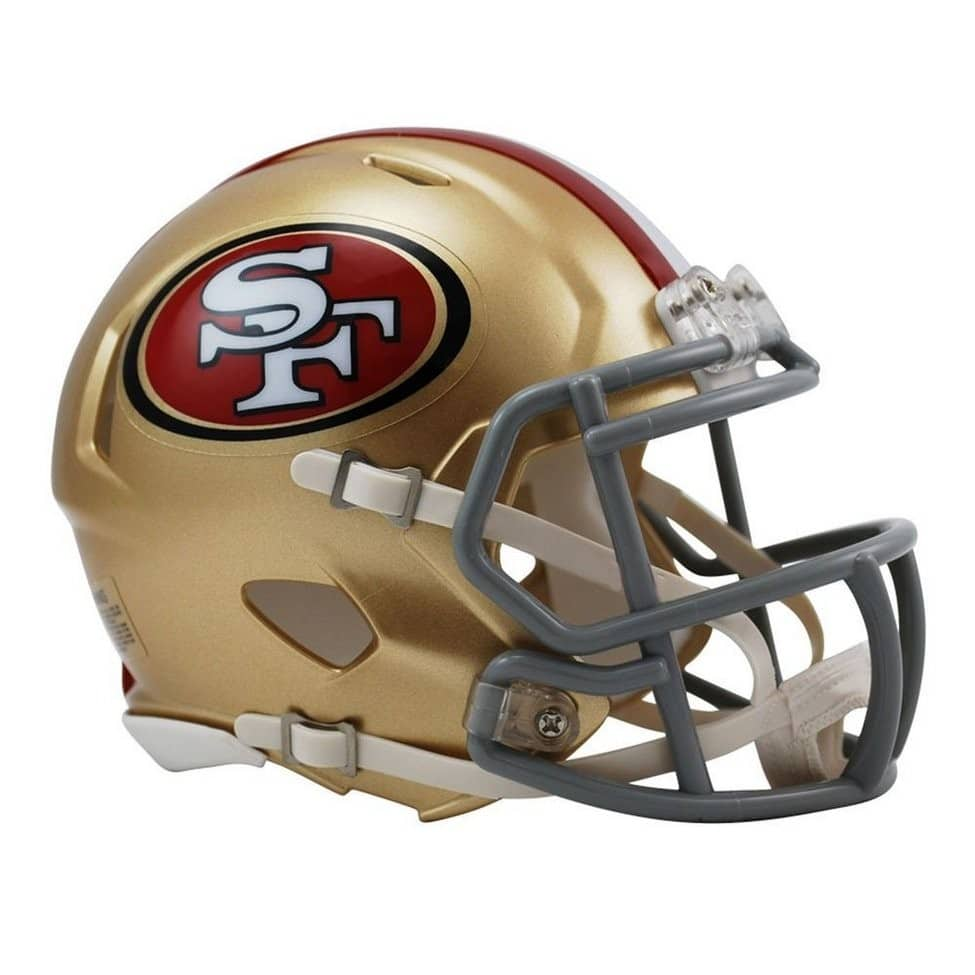 Caácete do San Francisco 49ers