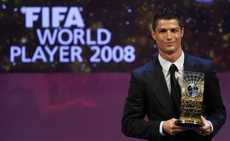 Cristiano Ronaldo melhor jogador do mundo de 2008