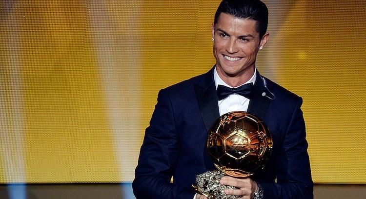 Cristiano Ronaldo melhor jogador do mundo da Fifa 2014