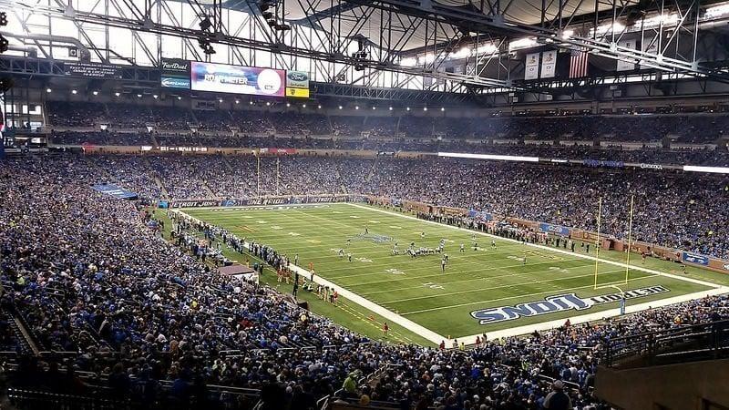 Ford Field estádio do Detroit Lions