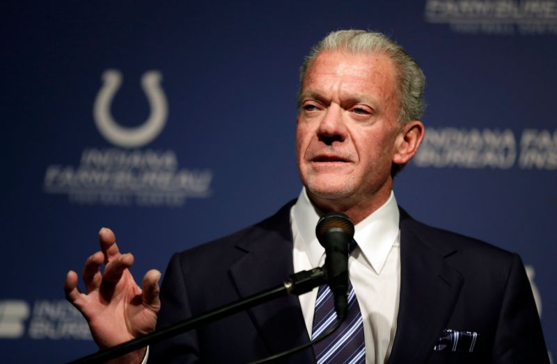 Jim Irsay dono do Indianapolis Colts