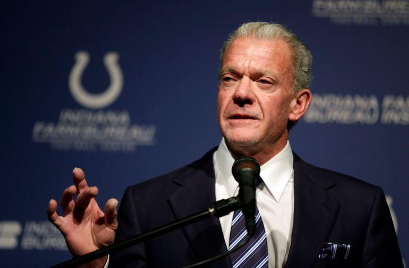 Jim Irsay dono do Indianapolis Colts