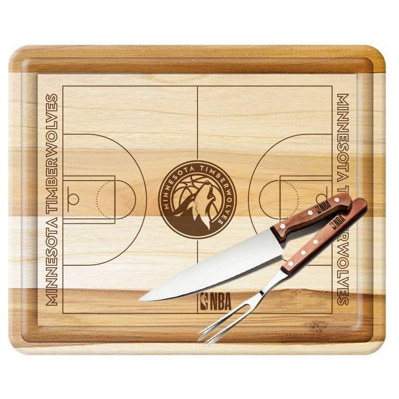 Kit de churrasco do Minnesota Timberwolves