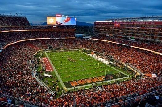 Levi's Stadium estádio do San Francisco 49ers