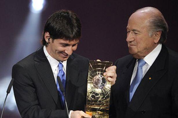 Lionel Messi melhor jogador do mundo 2009